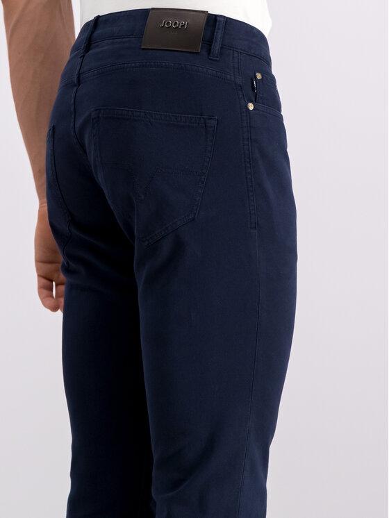 JOOP! Jeans Joop! Jeans Szövet nadrág 30018283 Sötétkék Straight Fit