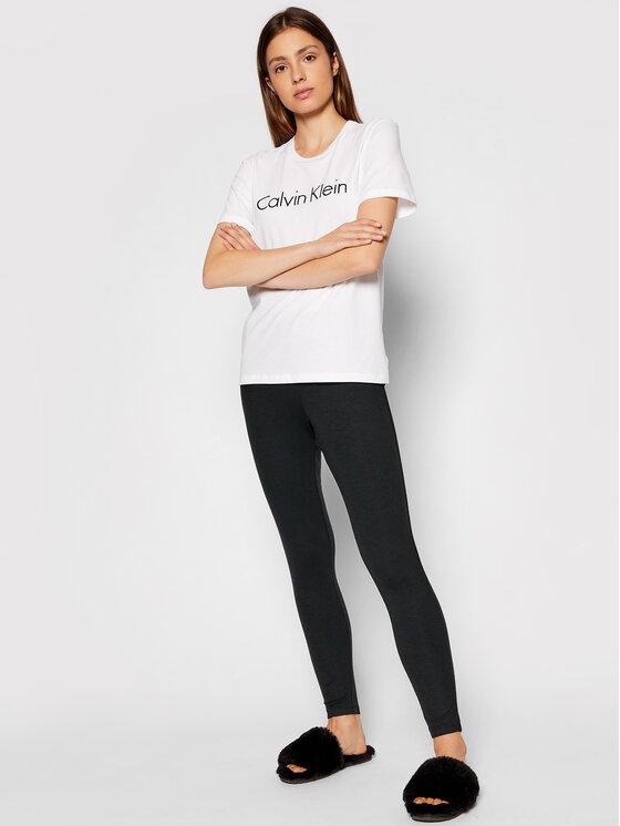 Calvin Klein Underwear Calvin Klein Underwear T-Shirt 000QS6689E Biały Regular Fit