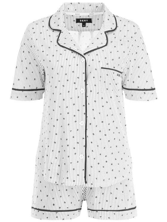 DKNY DKNY Pyjama YI2819259 Weiß
