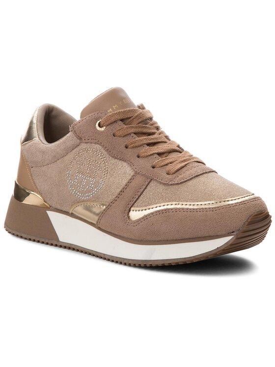 Tommy Hilfiger Tommy Hilfiger Sneakers Stud City Snea FW0FW03229 Marrone