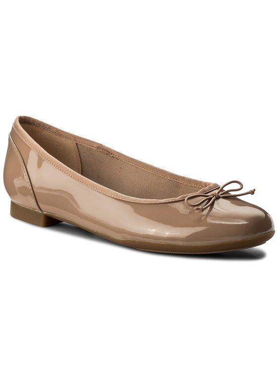 Balerini dama Clarks Couture Bloom 261339924 bej