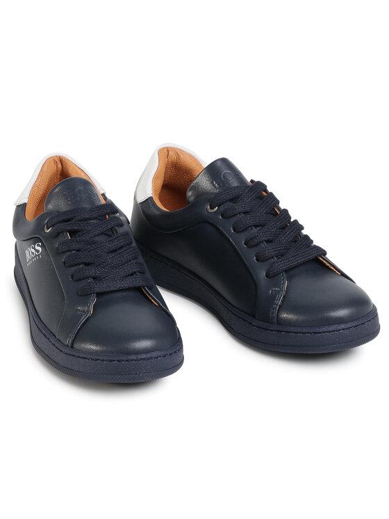 Boss Boss Sneakersy J29222 S Granatowy