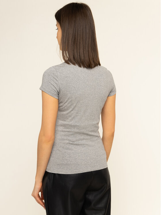 Guess Guess T-shirt Icon W01I20 J1300 Grigio Slim Fit