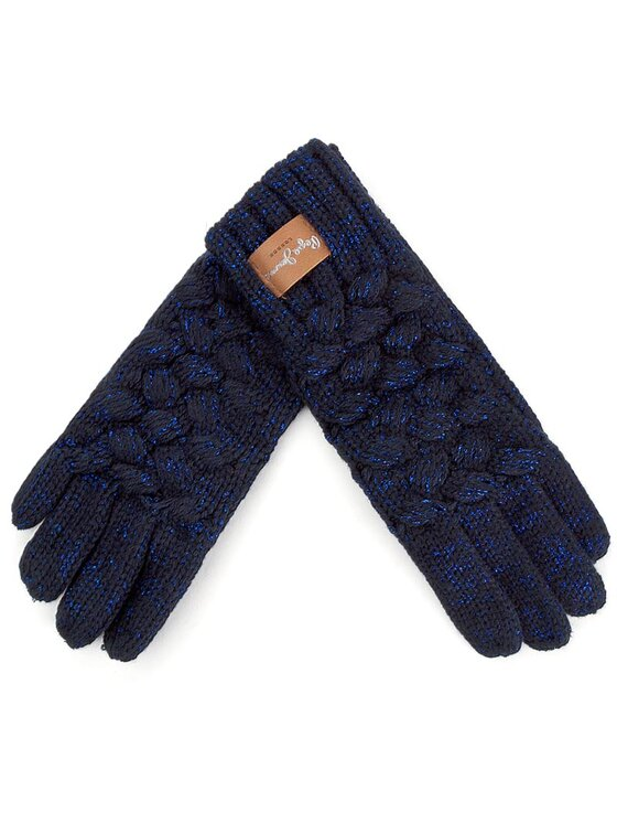 Pepe Jeans Pepe Jeans Дамски ръкавици Becky Gloves PG080063 Тъмносин