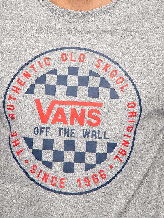 Vans Vans Džemperis Checker Crew VN0A49TL02F1 Pilka Regular Fit