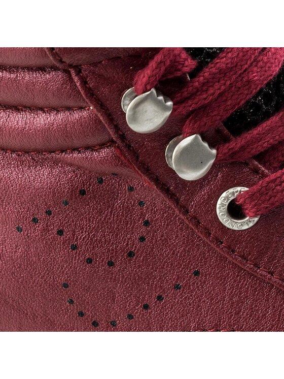 Pepe Jeans Pepe Jeans Sportcipő Clinton Mesh PLS30570 Bordó