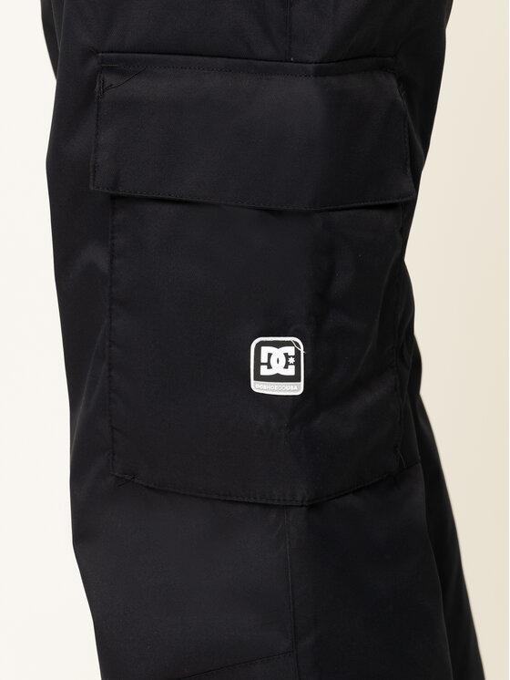 DC DC Pantaloni pentru snowboard Banshee EDYTP03047 Negru Regular Fit