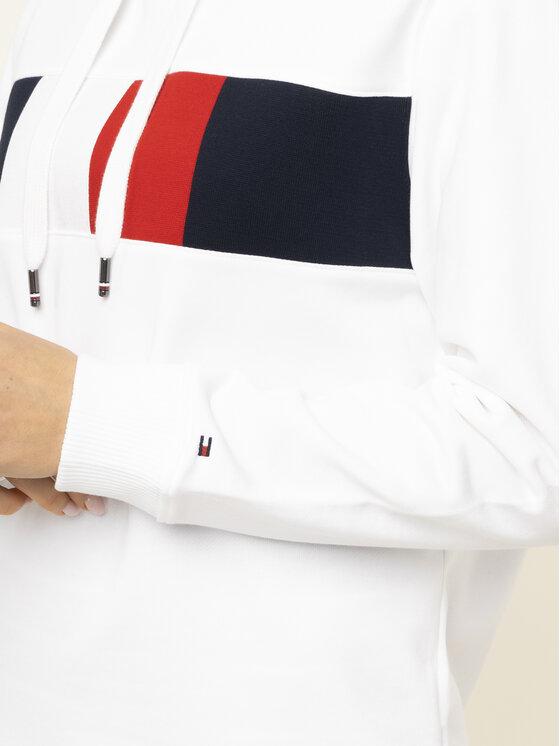 TOMMY HILFIGER TOMMY HILFIGER Μπλούζα Stella WW0WW26843 Λευκό Regular Fit