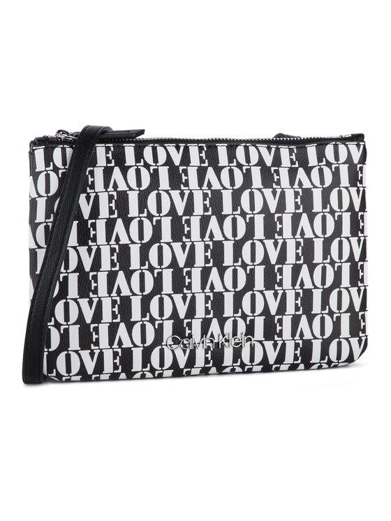 Calvin Klein Calvin Klein Geantă Ck Must Crossover Love K60K605486 Negru