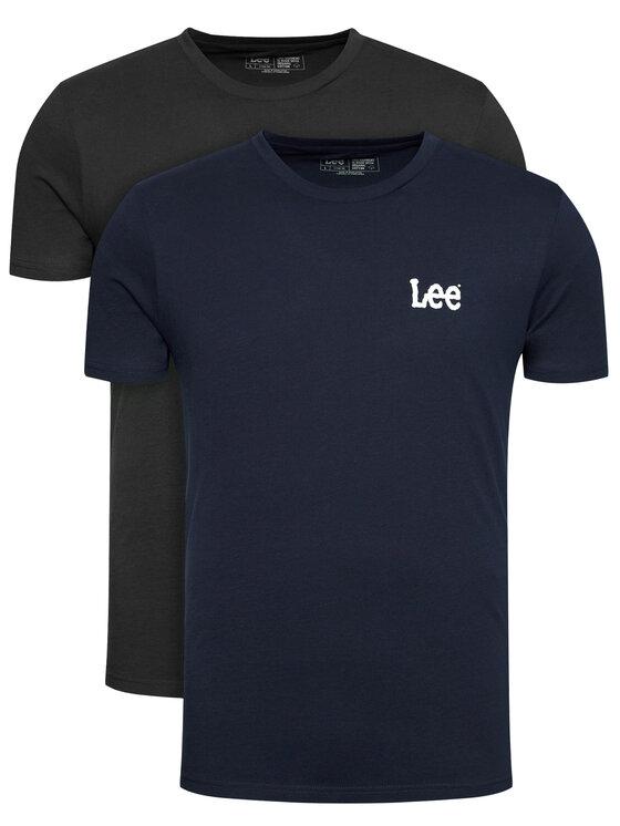 Lee 2 marškinėlių komplektas Twin Graphic L65RAITT Spalvota Fitted Fit