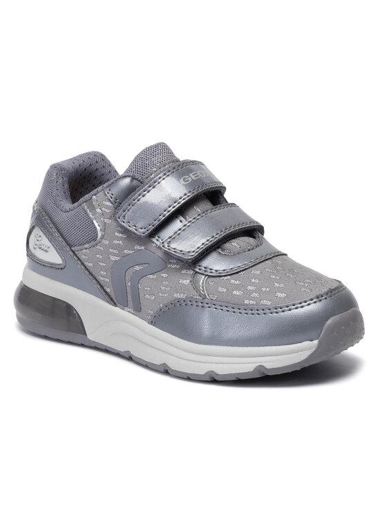 Geox Geox Sneakersy J Spaceclub G.B J948VB 0DHAJ C9002 S Šedá
