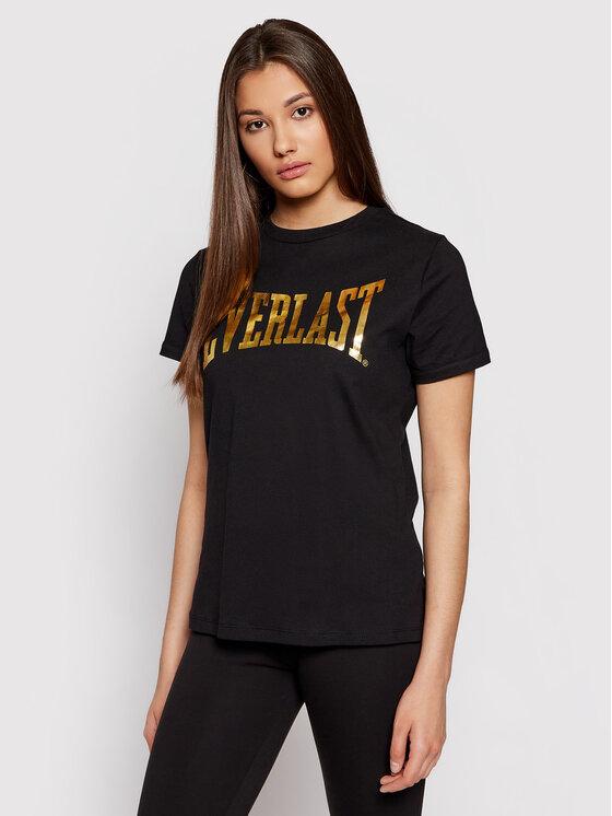 EVERLAST Marškinėliai 855430-50 Juoda Slim Fit