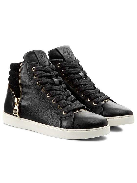 Guess Guess Sneakersy Rizel FL4RIZ ELE12 Czarny