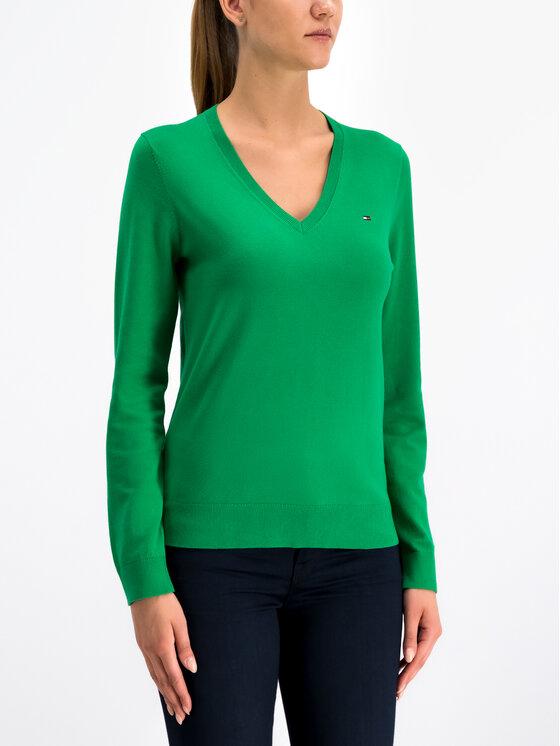 Tommy Hilfiger Tommy Hilfiger Пуловер New Ivy 1M87650121 Зелен Regular Fit