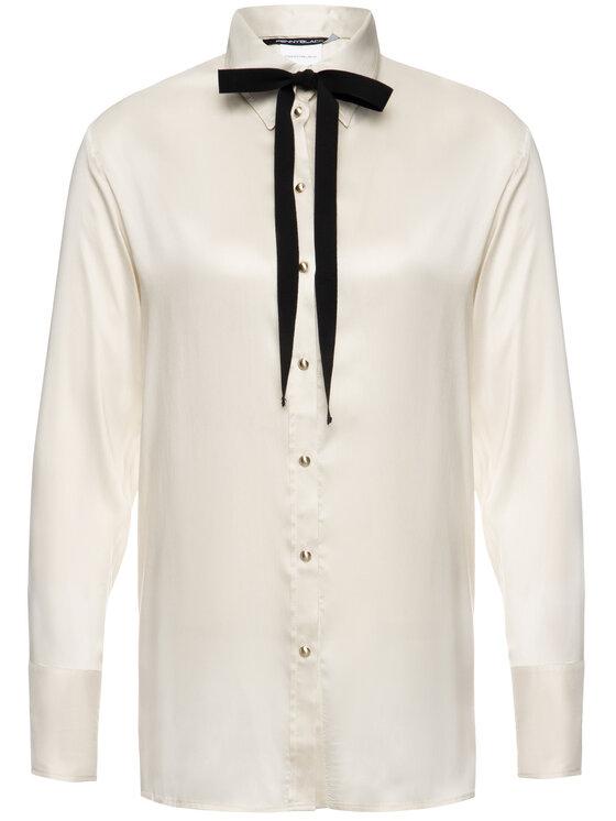 Pennyblack Pennyblack Košile Elba 21140219 Béžová Regular Fit