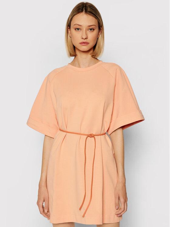 Imperial Kasdieninė suknelė ABZQBCR Oranžinė Regular Fit