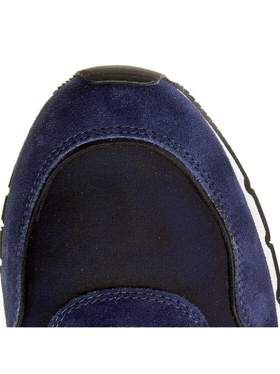 Voile Blanche Voile Blanche Sneakers Liam Power 0012010422.05.9143 Bleu marine