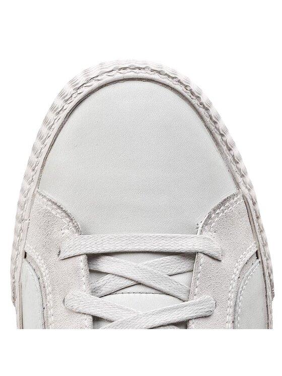 Geox Geox Sneakersy U Smart R U34X2R 04322 C1005 Biały