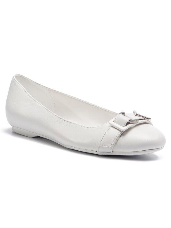 Balerini dama Calvin Klein Orion E8867 albi