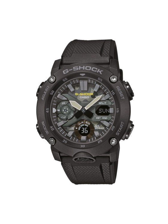 G-Shock Laikrodis GA-2000SU-1AER Juoda