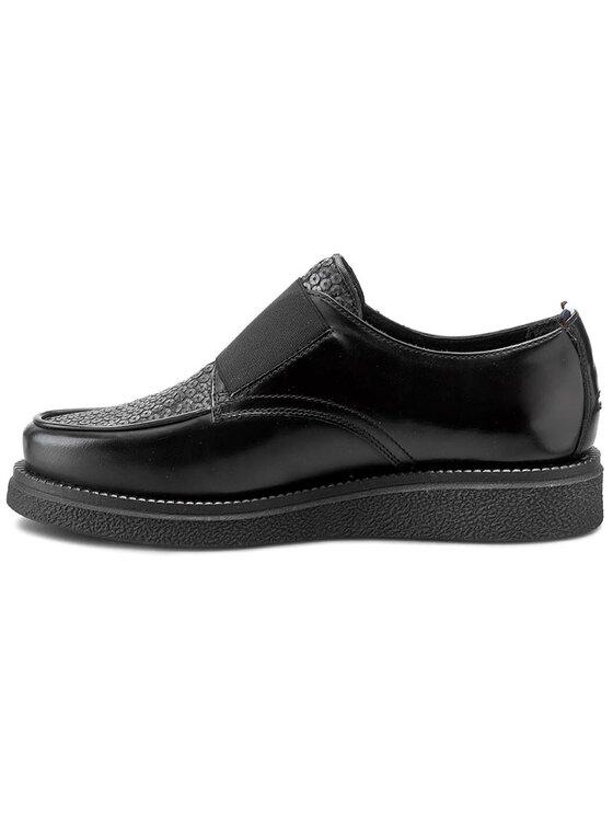 Tommy Hilfiger Tommy Hilfiger Pantofi DENIM Keeper 1P EN56822085 Negru