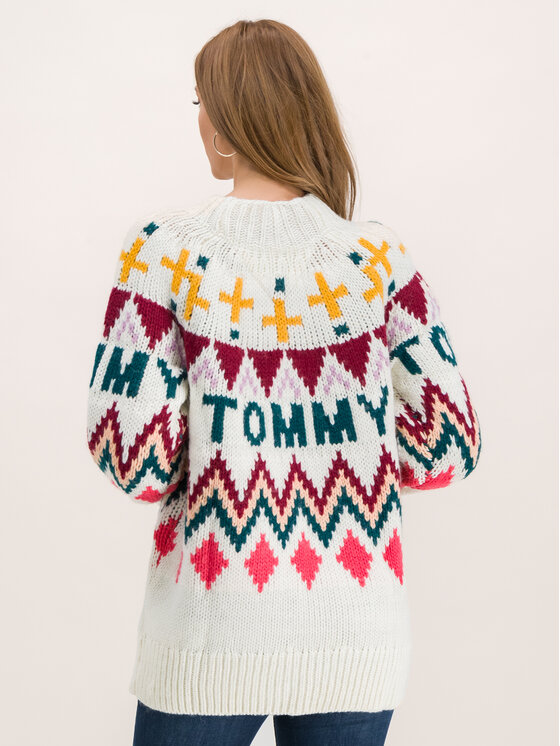 Tommy Jeans Tommy Jeans Пуловер Tjw Fairisle DW0DW07188 Цветен Regular Fit