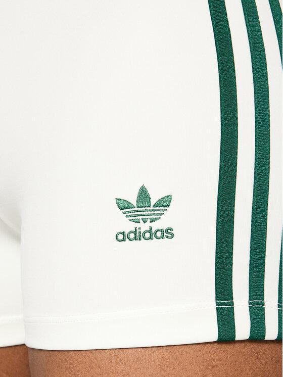 adidas adidas Szorty sportowe Tennis Luxe Booty H56461 Biały Slim Fit