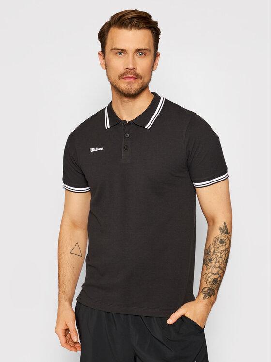 Wilson Polo marškinėliai M Team II WRA794302 Juoda Regular Fit
