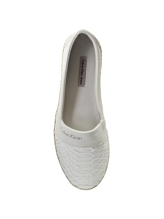 Calvin Klein Jeans Calvin Klein Jeans Espadrilles Gael Embossed RE9272 Weiß