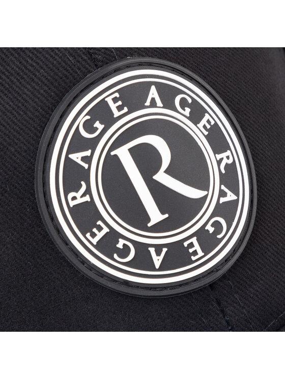 Rage Age Rage Age Шапка с козирка City Jungle 1 Черен