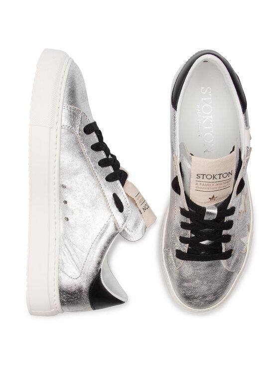 Stokton Stokton Sneakers 352-D-SS19 Silberfarben