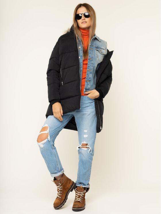 Tommy Jeans Tommy Jeans Пухено яке Modern Puffa DW0DW07109 Черен Regular Fit