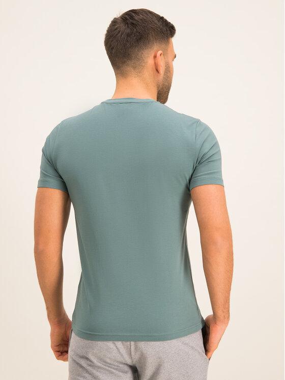 EA7 Emporio Armani EA7 Emporio Armani T-Shirt 3HPT05 PJ03Z 1858 Zelená Regular Fit