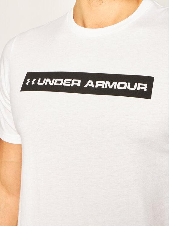 Under Armour Under Armour Marškinėliai Bar Originators Of Performance 1352045 Geltona Regular Fit