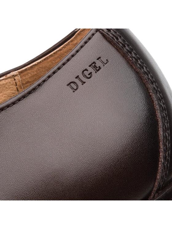 Digel Digel Półbuty Sebastian 1001956 Brązowy