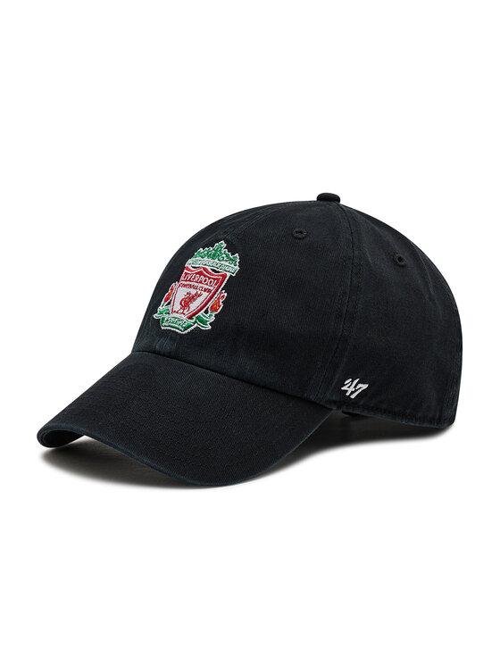 47 Brand 47 Brand Czapka z daszkiem Premier League Liverpool F.C. EPL-RGW04GWS-BK Czarny