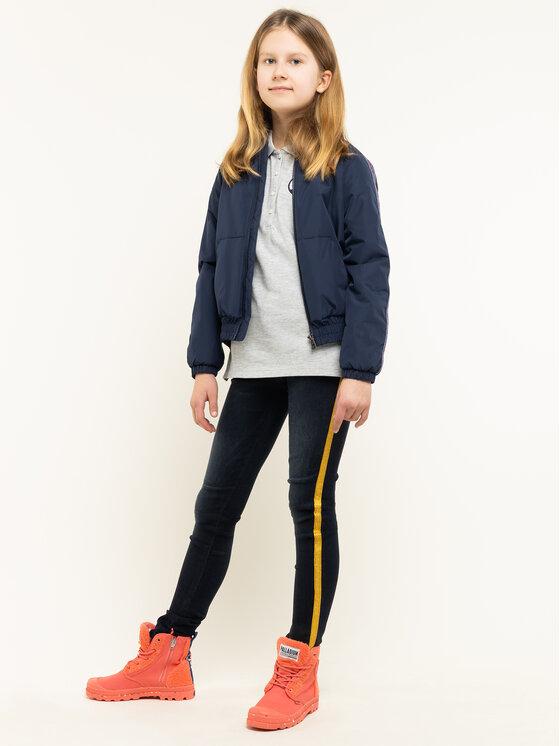 Tommy Hilfiger Tommy Hilfiger Polo marškinėliai Essential KG0KG04872 D Pilka Regular Fit