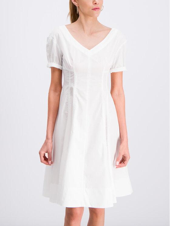 iBlues Kasdieninė suknelė Norme 72211292 Balta Regular Fit