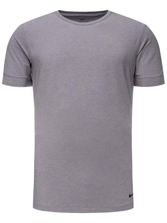 Nike Nike Funkčné tričko Transcend AJ8796 Sivá Regular Fit