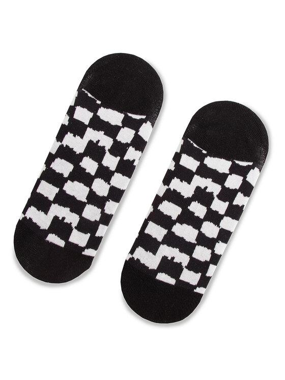Vans Vans Set 3 perechi de șosete scurte unisex Checkerboard Canoodle VN0A3NGR448 Negru