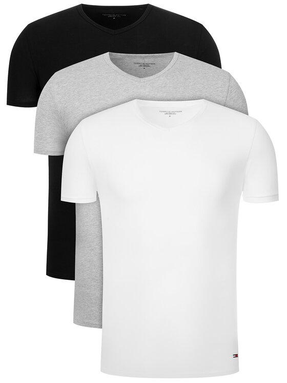 Tommy Hilfiger 3 marškinėlių komplektas Vn Tee 3 Pack Premium Essentialis 2S87903767 Spalvota Regular Fit