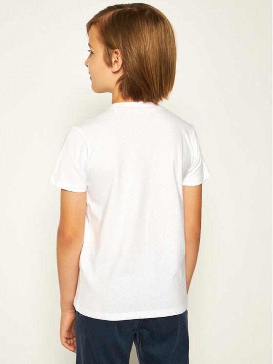 Guess Guess Marškinėliai L02I09 K5M20 Balta Regular Fit