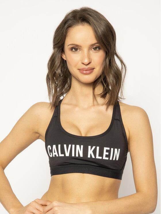 Calvin Klein Performance Calvin Klein Performance Reggiseno top Low Impact Sports 00GWS0K137 Nero
