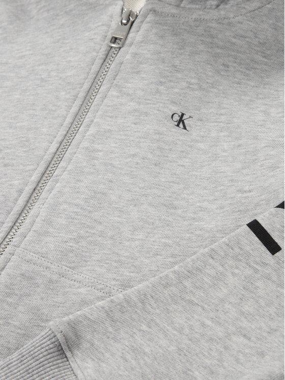 Calvin Klein Jeans Calvin Klein Jeans Bluza Hero Logo IB0IB00461 Szary Regular Fit