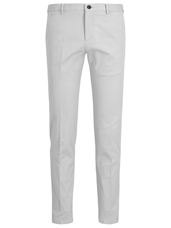 Tommy Hilfiger Tailored Tommy Hilfiger Tailored Pantaloni di tessuto TT0TT05458 Grigio Slim Fit