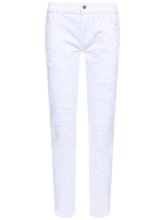 Emporio Armani Emporio Armani Jeansy Regular Fit 3H2J36 2N3RZ 0100 Biały Regular Fit