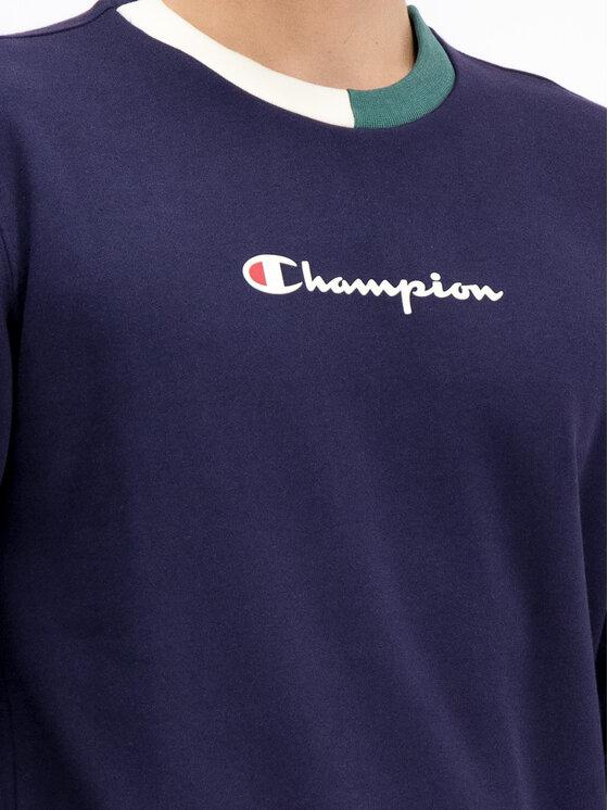 Champion Champion Суитшърт 212788 Тъмносин Comfort Fit