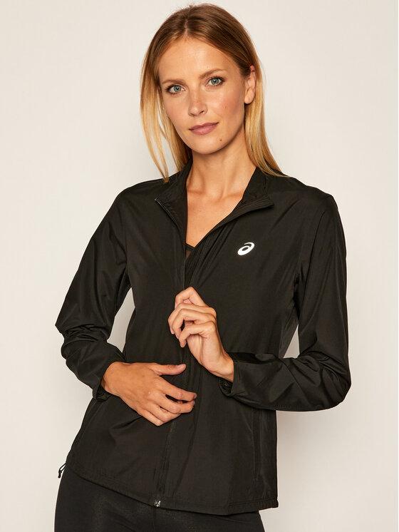 Asics Asics Softshellová bunda Silver 2012A035 Černá Regular Fit