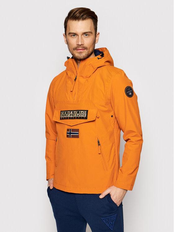 Napapijri Anorak stiliaus striukė Rainforest S Pkt 2 NP0A4FDM Oranžinė Regular Fit