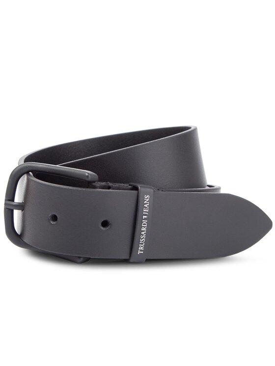Trussardi Trussardi Jeans Cintura da uomo Business Affair Belt 71L00081 95 Nero